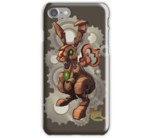 Steampunk White Rabbit iPhone Case/Skin