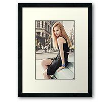girls generation seohyun Framed Print