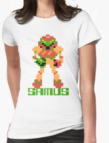 Metroid Samus Womens Fitted T-Shirt