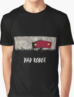 Bad Robot Lost Alcatraz Revolution Film CHARCOAL Graphic T-Shirt