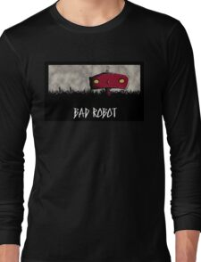 Bad Robot Lost Alcatraz Revolution Film CHARCOAL Long Sleeve T-Shirt