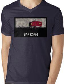 Bad Robot Lost Alcatraz Revolution Film CHARCOAL Mens V-Neck T-Shirt