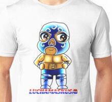 Chibi Lucha Sueño Azul Unisex T-Shirt