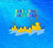 Rubber Ducky Family Outing by virginia5050