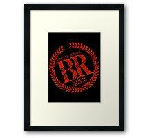 BATTLE ROYALE Logo movie dvd comic book Framed Print