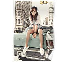 girls generation yuri Poster