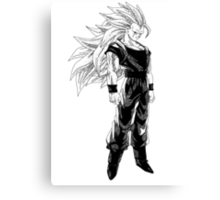 Goku super saiyan 3 (dark shirts) Canvas Print