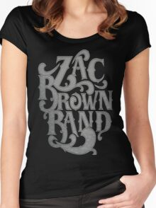 Zac Brown Band Jekyll Hyde Tour SAM02 Women's Fitted Scoop T-Shirt