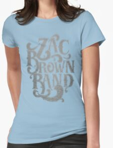 Zac Brown Band Jekyll Hyde Tour SAM02 Womens Fitted T-Shirt