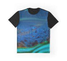 Blurred Swirls of Life  Graphic T-Shirt