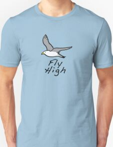 High Flier - Fly high, like a bird Unisex T-Shirt