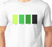 Green Swatches Unisex T-Shirt