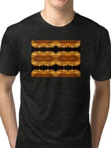 Suburban Sunrise Patterns Tri-blend T-Shirt