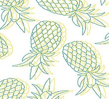 Hipster Pineapples by Mo93