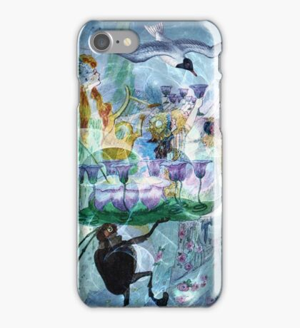 A FAE TOAST TO FLIGHT iPhone Case/Skin