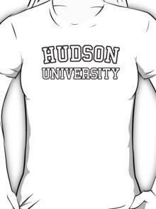 Hudson University  (Law & Order, Castle) T-Shirt