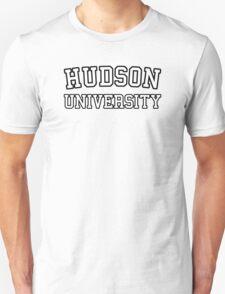 Hudson University  (Law & Order, Castle) Unisex T-Shirt