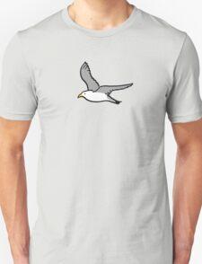 Bird flying high in the sky Unisex T-Shirt