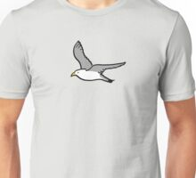 Bird flying high in the sky Unisex T-Shirt