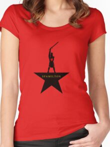 Spamilton Women's Fitted Scoop T-Shirt