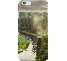 Smoke on the forest iPhone Case/Skin