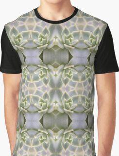 Succulent Patterns Graphic T-Shirt