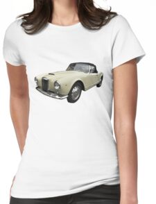 Vintage Italian Sports Car 3 Womens Fitted T-Shirt