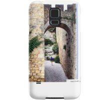OBIDOS PORTUGAL WALLED CITY Samsung Galaxy Case/Skin