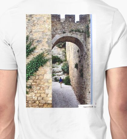 OBIDOS PORTUGAL WALLED CITY Unisex T-Shirt