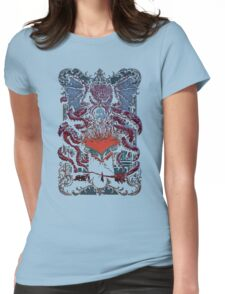 calling Cthulhu Womens Fitted T-Shirt