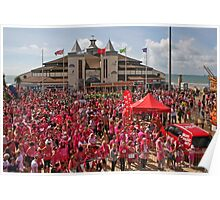 Sea of Pink Poster