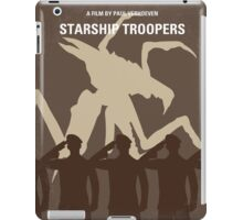 No424 My Starship Troopers minimal movie poster iPad Case/Skin