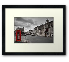 The Red Lion at Chipping Camden  Framed Print