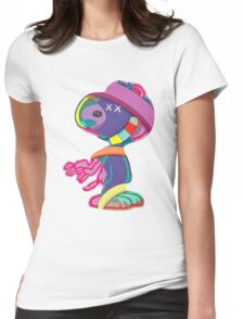 Peanuts KAWS Womens Fitted T-Shirt