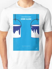 No427 My Home alone minimal movie poster Unisex T-Shirt
