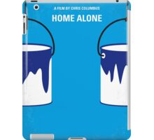 No427 My Home alone minimal movie poster iPad Case/Skin
