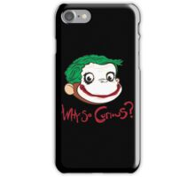 Why So Curious iPhone Case/Skin