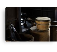 Japanese Storehouse Canvas Print