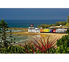 Quiksilver Pro venue at Snapper Rocks Photographic Print