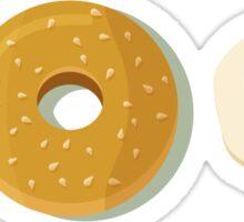 100% foodie Sticker