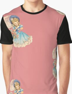 Vintage Girl Graphic T-Shirt