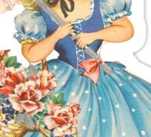 Vintage Girl Sticker