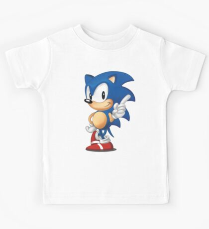 sonic the hedgehog Kids Tee