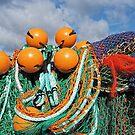 Fishing Gear At The Cobb - Lyme Regis by Susie Peek