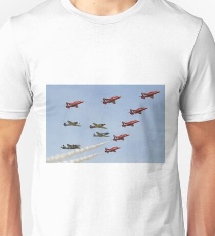 The Red Arrows with 'Eagle Squadron' Unisex T-Shirt