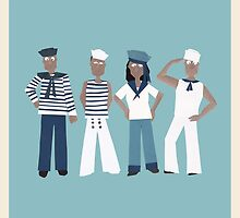 Ahoy there sailor! by Sandy Mitchell