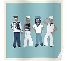 Ahoy there sailor! Poster