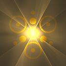 Eye of RA Suncave Logo || GodSol.com by SirDouglasFresh