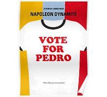 No430 My Napoleon Dynamite minimal movie poster Poster