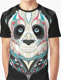 Ethnic Panda Graphic T-Shirt